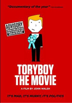 ToryBoy The Movie - Theatrical release poster