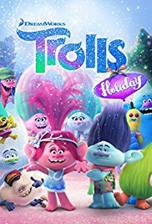 Trolls Holiday - DVD cover