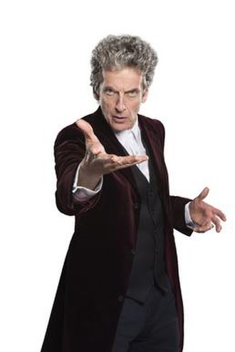 "Twelfth Doctor - The Twelfth Doctor in his red velvet coat, first appearing in ""Face the Raven"" (2015)."