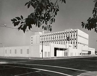 United States District Court for the Eastern District of Washington - Richland Courthouse in 1965