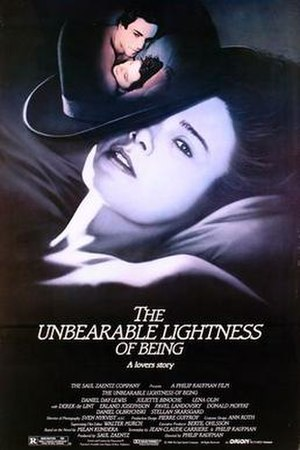 The Unbearable Lightness of Being (film) - Theatrical release poster