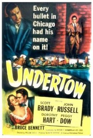 Undertow (1949 film) - Theatrical release poster