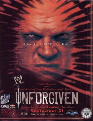 Unforgiven (2003) - Promotional poster featuring Kane