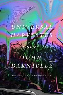 The cover of Universal Harvester
