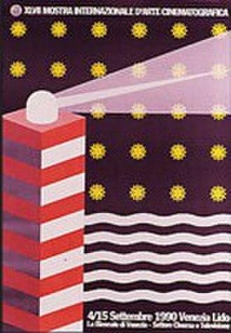 47th Venice International Film Festival - Festival poster