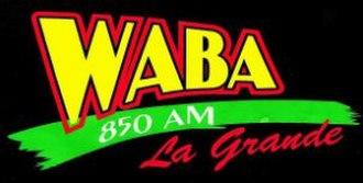 WABA (AM) - Image: WABA AM850
