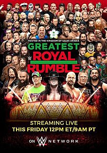 WWE Greatest Royal Rumble - Wikipedia