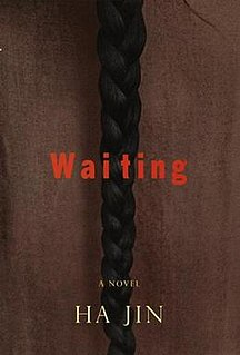 <i>Waiting</i> (novel) 1999 novel by Ha Jin