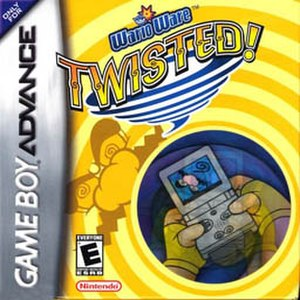 WarioWare: Twisted! - North American box art