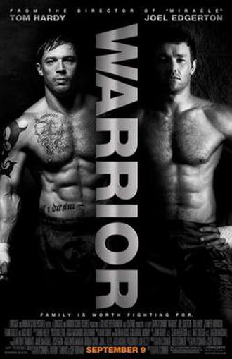 Warrior (2011 film) - Theatrical release poster