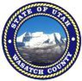 Wasatch County, Utah - Image: Wasatch County Utah Seal