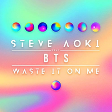 Image result for waste it on me bts