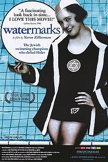 <i>Watermarks</i> (film) 2004 film by Yaron Zilberman