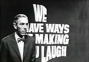 We Have Ways of Making You Laugh - title screen with host Frank Muir