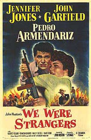 We Were Strangers - Theatrical poster