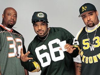 Westside Connection - From left to right: WC, Ice Cube, Mack 10 in 2003
