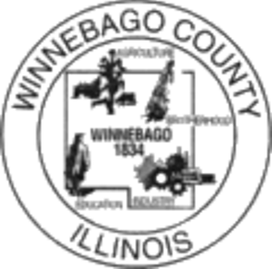 Winnebago County, Illinois - Image: Winnebago County il seal