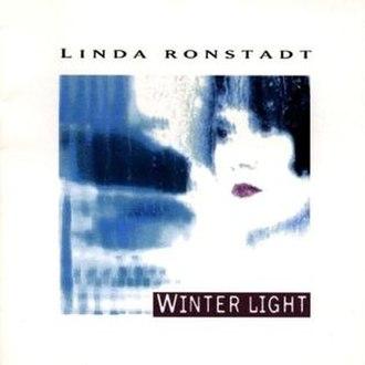 Winter Light (Linda Ronstadt album) - Image: Winter Light