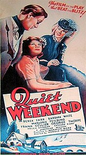 <i>Quiet Weekend</i> 1946 film by Harold French