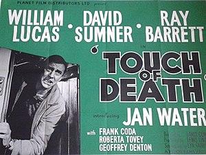 Touch of Death (1961 film) - British quad poster