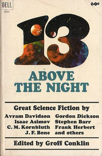 13 Above the Night (anthology) - cover of first edition