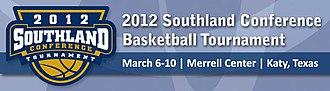 2012 Southland Conference Men's Basketball Tournament - Tournament logo