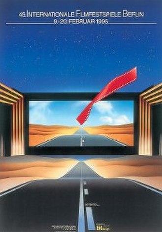 45th Berlin International Film Festival - Festival poster