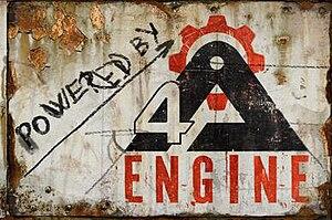 ساخته شده با 4A Engine