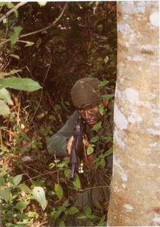 Communist insurgency in Malaysia (1968–89) - VAT 69 Commando is a second special forces after 21st GGK playing a major role to fought against MCP forces during insurgency.