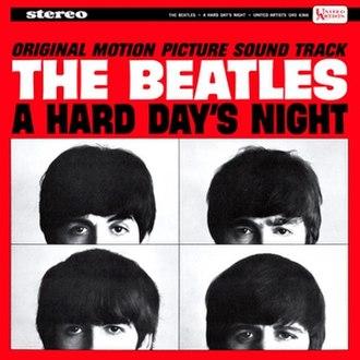 A Hard Day's Night (album) - Image: A Hard Days Night U Salbumcover
