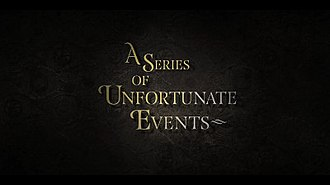 A Series of Unfortunate Events (TV series) - Image: A Series of Unfortunate Events TV titlecard