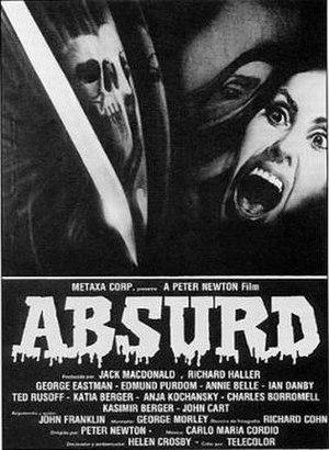 Absurd (film) - Film poster
