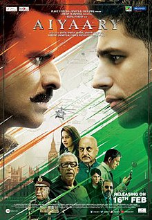 Aiyaary 2018 Hindi DVDRip 700MB AAC ESub MKV