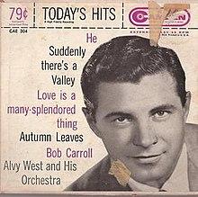 height Bob Carroll (singer/actor)