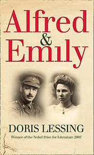 <i>Alfred and Emily</i> book by Doris Lessing