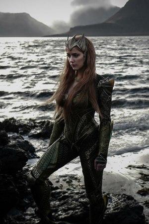Mera (comics) - Amber Heard as Mera in the 2017 film, Justice League.