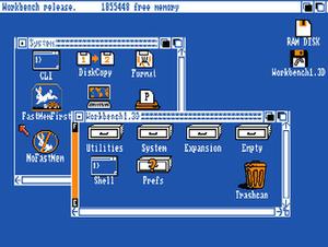AmigaOS - AmigaOS 1.3 (1988)