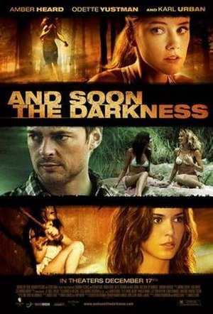 And Soon the Darkness (2010 film) - Theatrical release poster