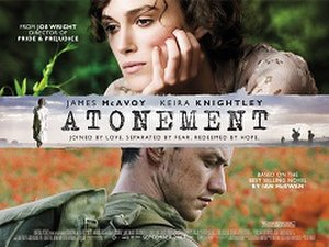 Atonement (film) - Image: Atonement UK poster
