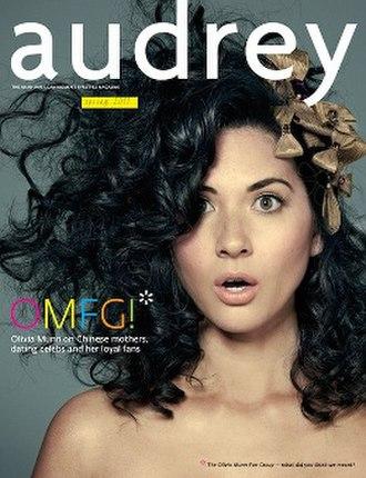 Audrey (magazine) - Image: Audrey (magazine) Spring 2011 cover
