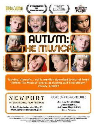 Autism: The Musical - Promotional poster