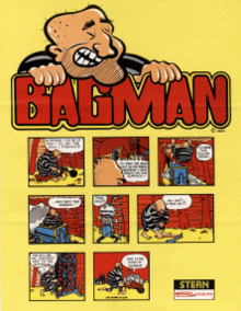 Bagman arcade flyer.png