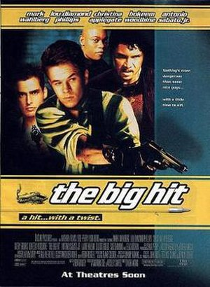 The Big Hit - Theatrical release poster