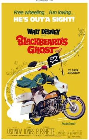 Blackbeard's Ghost - Blackbeard's Ghost theatrical poster
