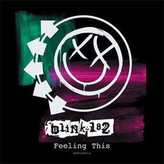 Feeling This - Image: Blink 182 Feeling This cover