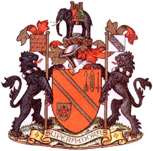 County Borough of Bolton - coat of arms of the Bolton Borough Council