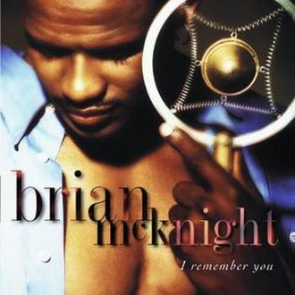 I Remember You (Brian McKnight album) - Image: Brianmcknight irememberyou