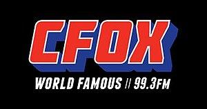 CFOX-FM - Image: CFOX New Logo 2014