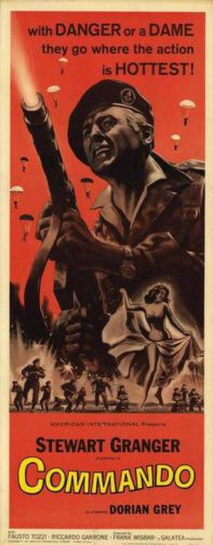 Commando (1962 film) - US release film poster