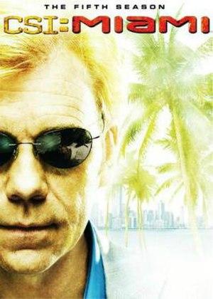 CSI: Miami (season 5) - Season 5 U.S. DVD cover